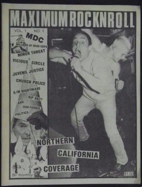 Maximum Rocknroll - Volume 1 - Issue 1 - cover