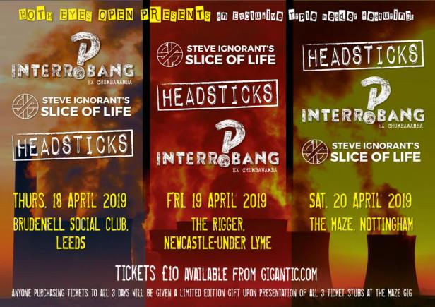 Slice of Life - Interrobang - Headsticks