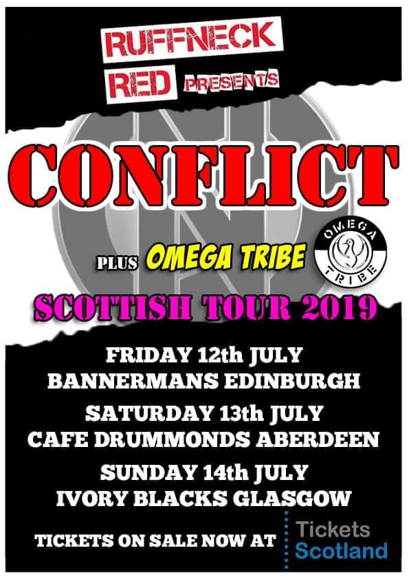 Conflict - Omega Tribe - Scotland - July 2019