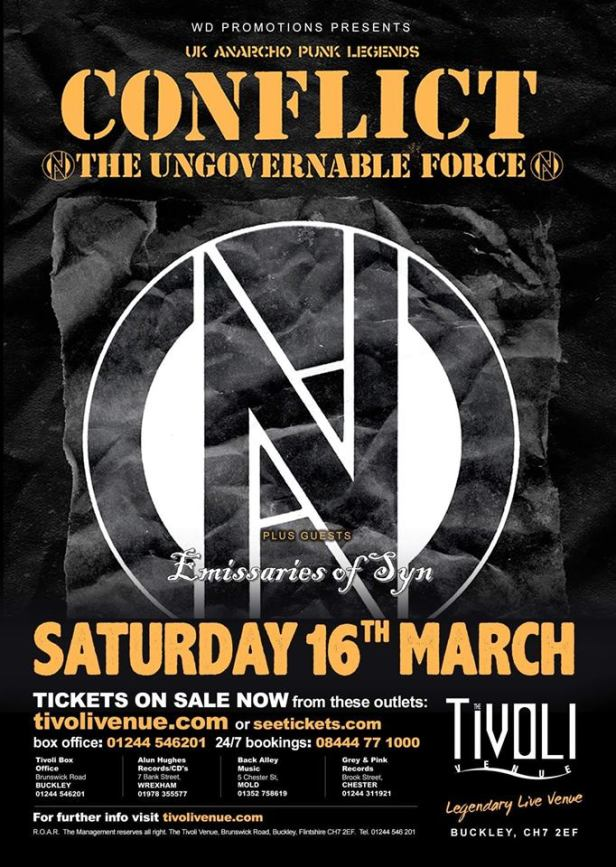 Conflict - Liverpool - 16 March 2019