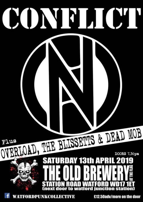 Conflict - Watford - 13 April 2019