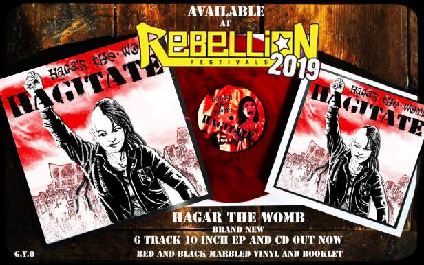 Hagar the Womb - Hagitate - Grow Your Own Records