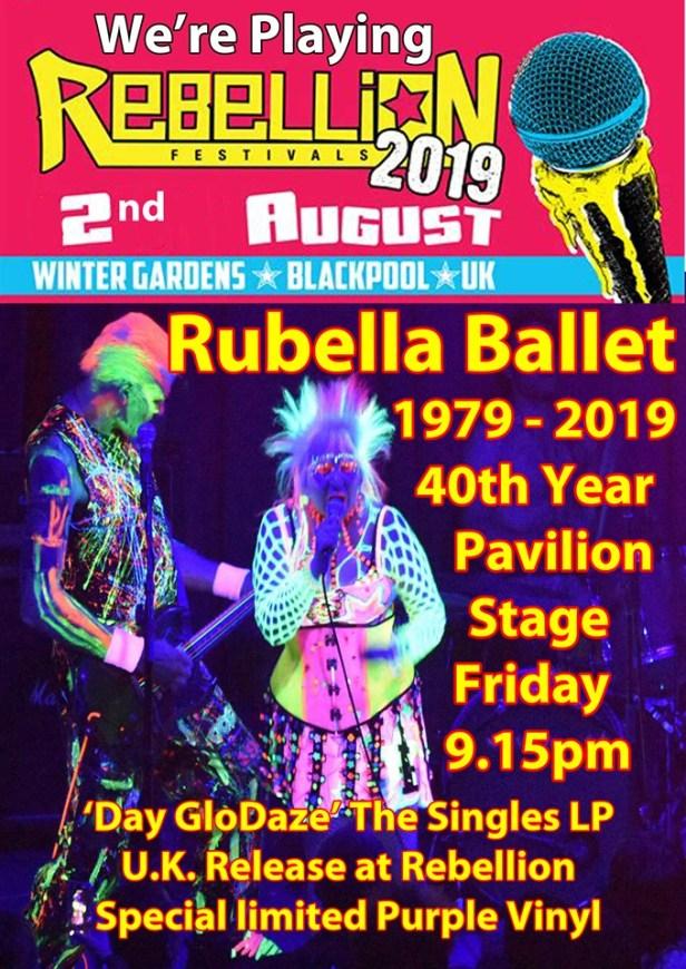 Rebellion 2019 - Rubella Ballet