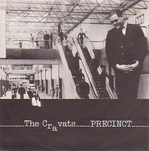 The Cravats - Precinct - single re-issue sleeve