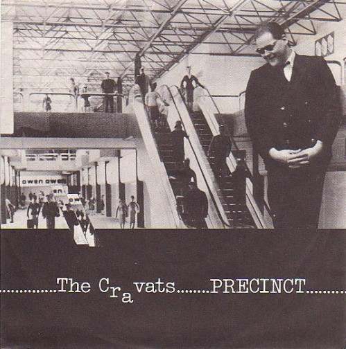 The Cravats - Precinct - single re-issue sleeve