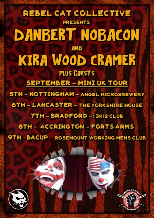 Danbert Nobacon and Kira Wood Cramer - September 2019