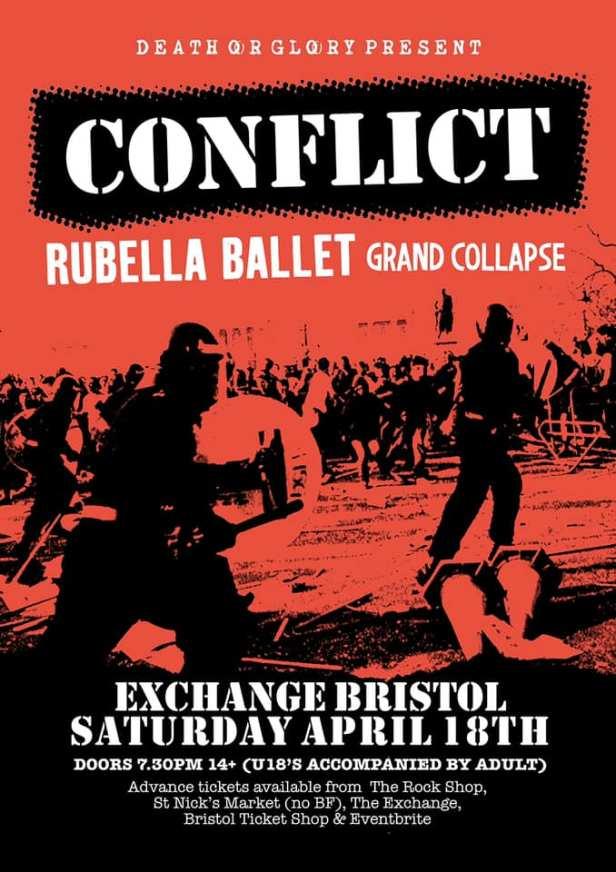 Conflict - Rubella Ballet - Grand Collapse - 18 April 2020