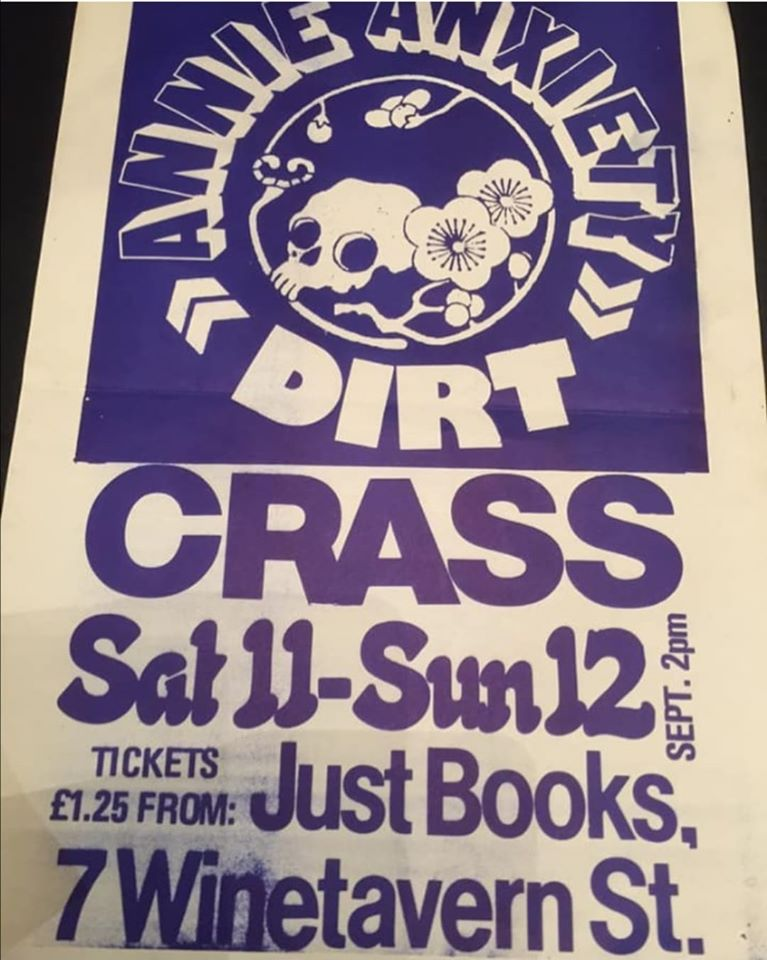Crass Belfast September 1982
