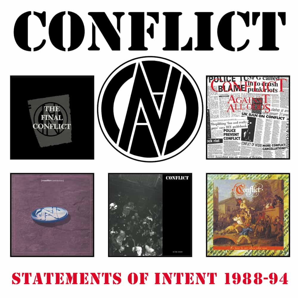 Conflict - Statements of Intent 1988-1994  - boxset front cover