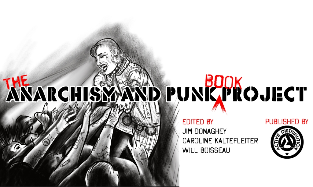 The Anarchism and Punk Book Project main logo