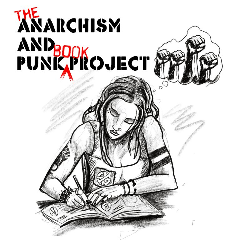 The Anarchism and Punk Book logo (author version)