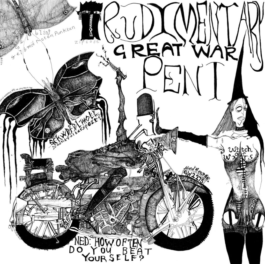 Rudimentary Peni - Great War - cover