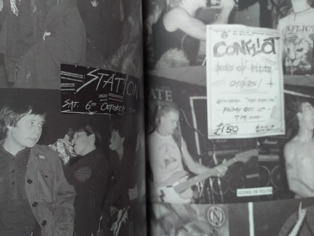 Second sample page from 'From The Garage To The Station And Beyond' - Stories From The Gateshead Music Collective 1980-88