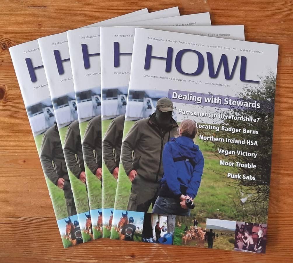 HOWL magazine - Number 126  - Summer 2021